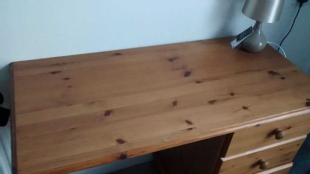 Some small furniture for sale.