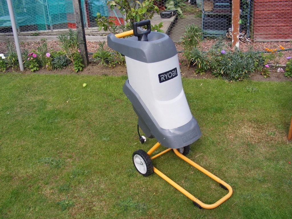 Ryobi garden shredder only used once, Buyer collects