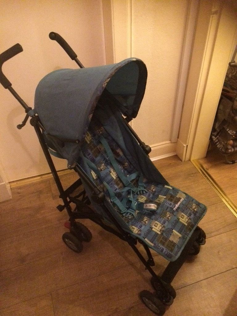 Buggy used on holiday only mother care nanu