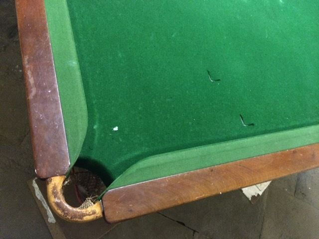 snooker table for free