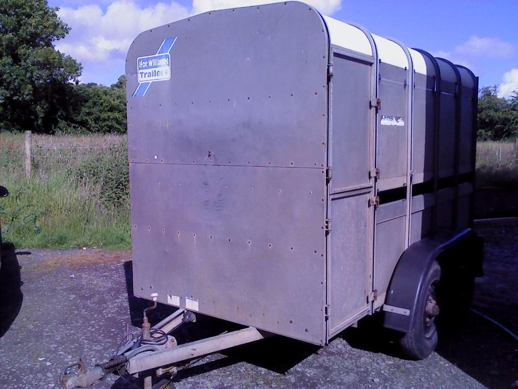 ifor williams 10 x 5 ft3 cattle trailer, in very good condition