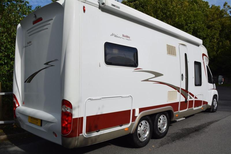 2012 HOBBY TOSKANA EXCLUSIVE 750 4 BERTH MOTORHOME FOR SALE