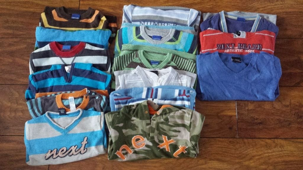 More than 135 items boys clothes 12-18 months