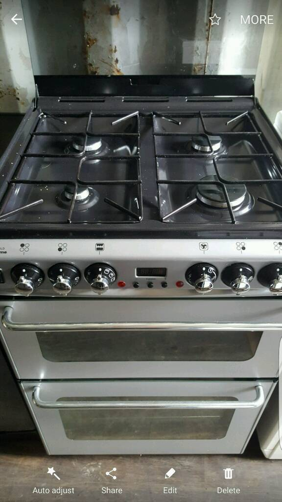 Newhomes duel fuel cooker