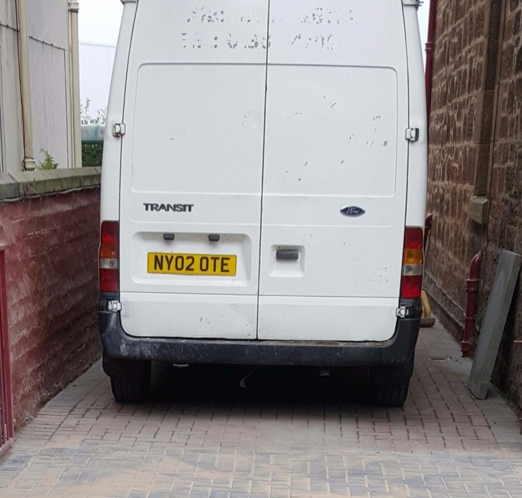 Ford transit good old workhorse