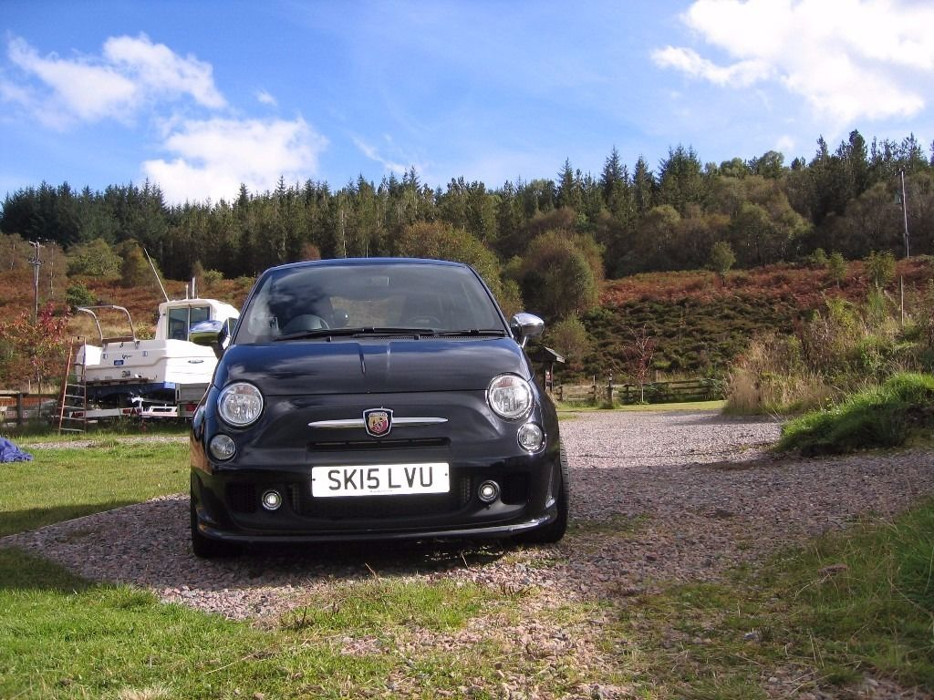 ABARTH 500 OCTOBER 2015 4200 MILES