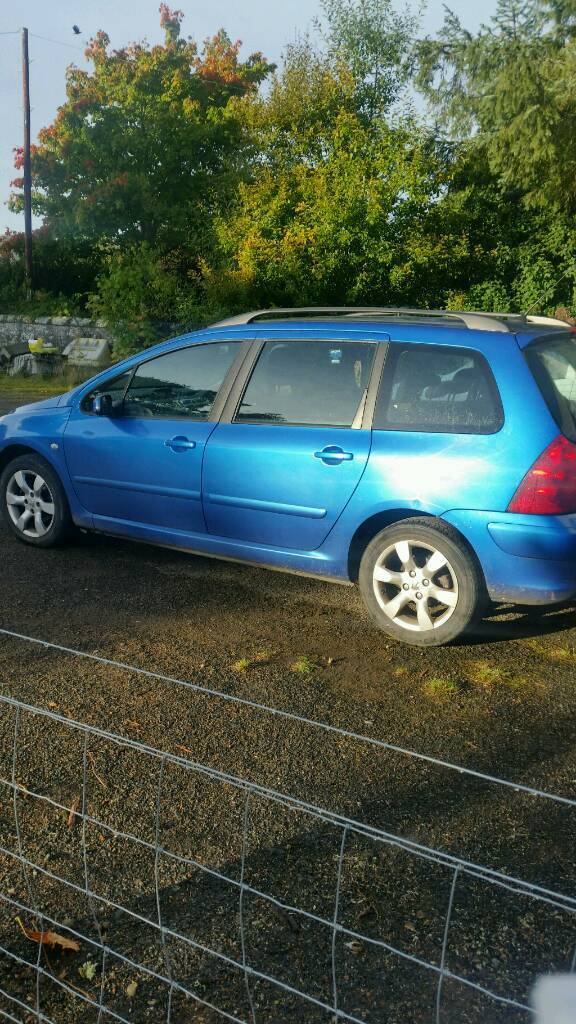 Peugeot 307 SW Estate for sale or swap for 4x4