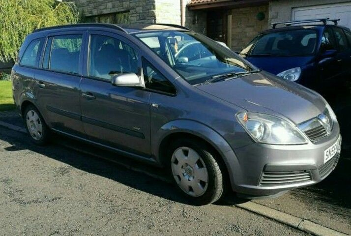 2006 Vauxhall Zafira, Very low mileage and FSH