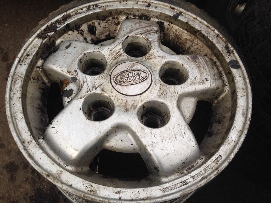Landrover td5 alloys and tyres