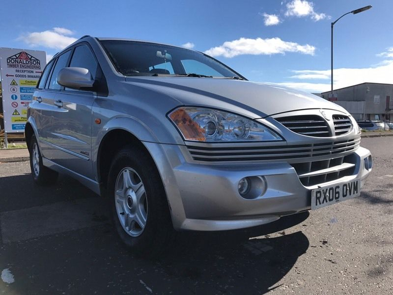 Ssangyong Karon S 4WD excellent condition service history only 57000 miles