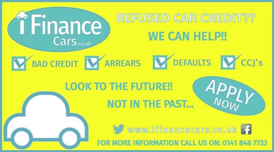 RENAULT MEGANE SCENIC Can't get car finance? Bad credit, unemployed? We can help!