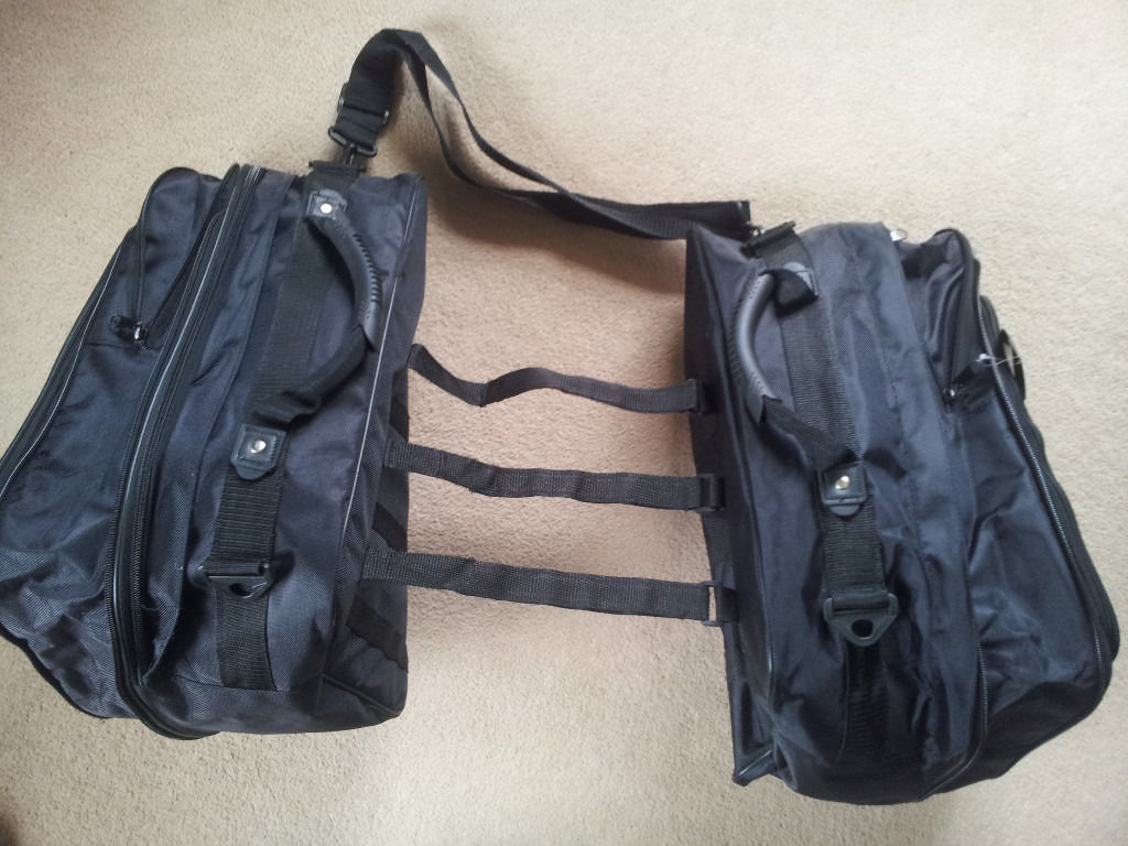 Brand new motorcycle panniers bags