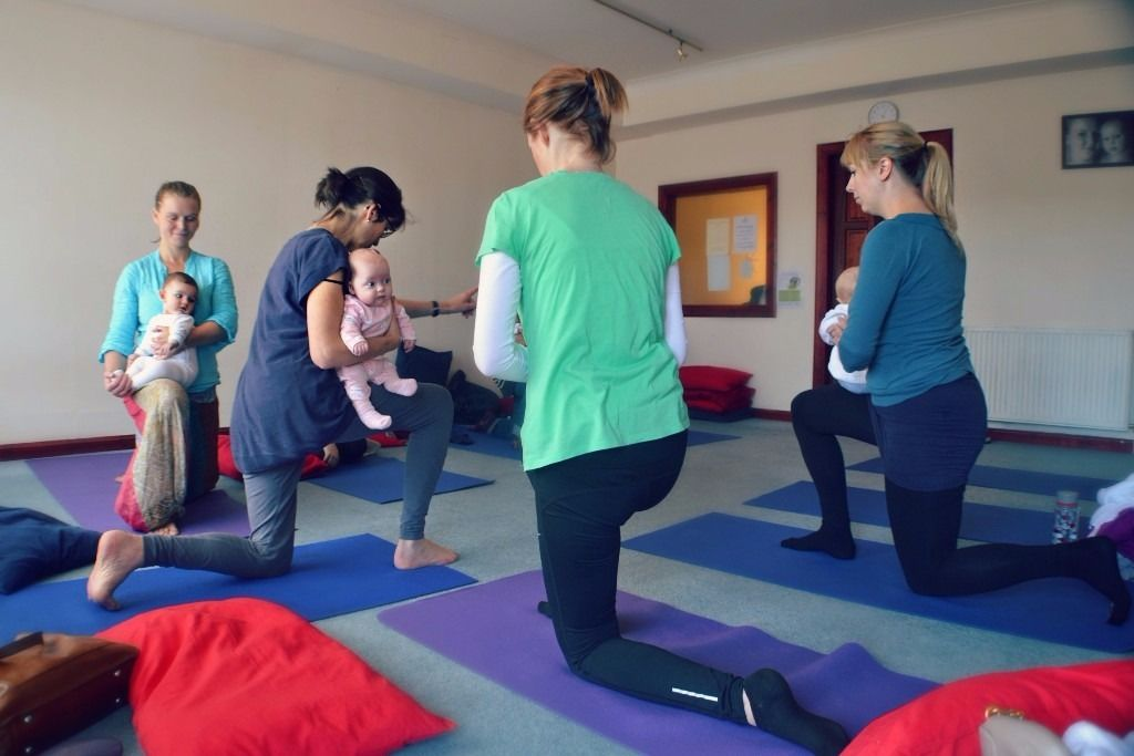 Yoga with baby - spaces available in classes!!
