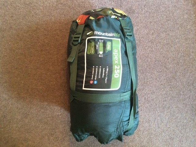 MOUNTAIN LIFE APEX 250 SLEEPING BAG