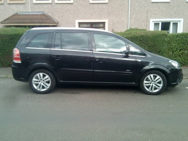 ***Vauxhall Zafira Design 1.9CDTI 2007**1 Years Mot**New Timing Belt**Good Condition