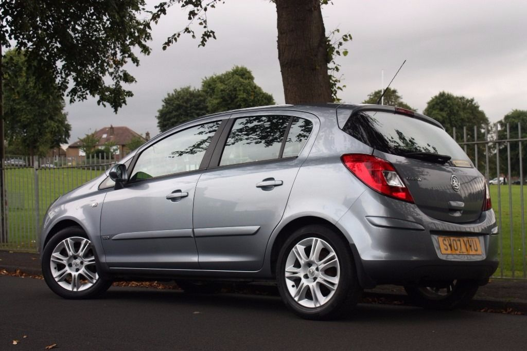 Vauxhall Corsa 2007 5 doors 55k miles, full year MOT service history same as astra fiesta polo golf