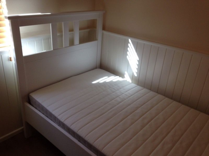 IKEA Hemnes single bed with Hafslo mattress
