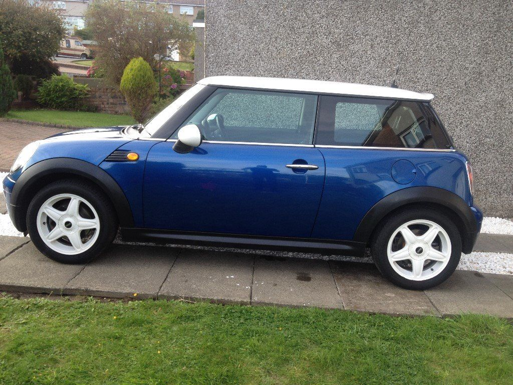 MINI COOPER 2007 CHILLI PACK WHITE ROOF STRIPES FSH