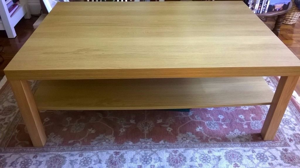 Reduced price - like-new large coffee table for sale - absolute bargain! Must go asap!