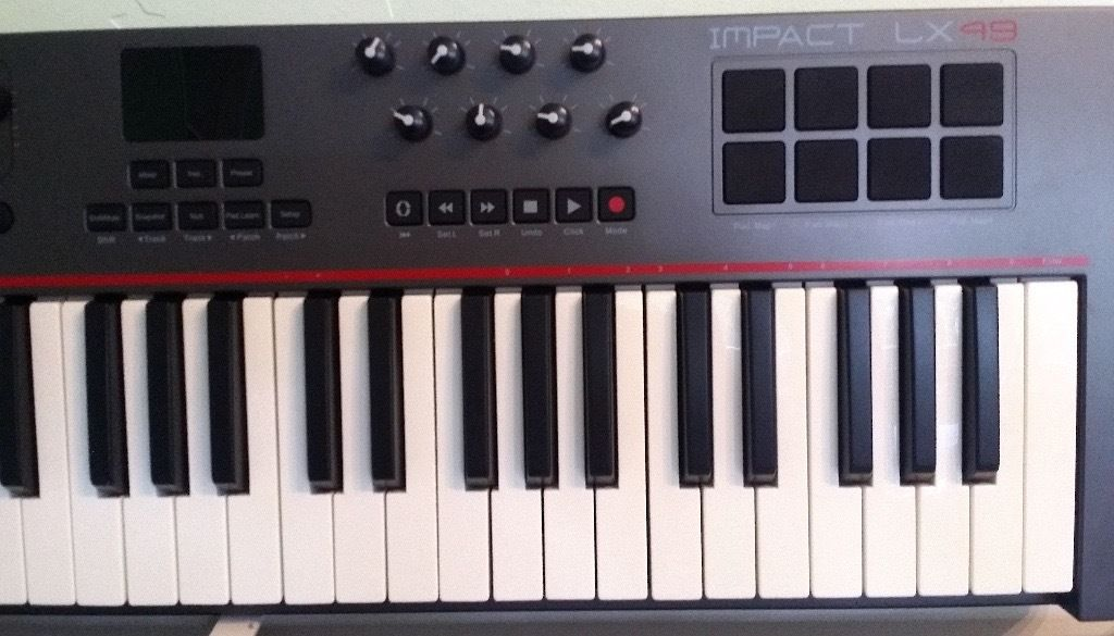 Nektar Impact LX49 USB MIDI Keyboard Controller with DAW Integration