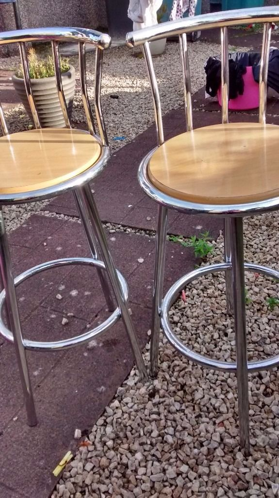 2 x breakfast stools for sale