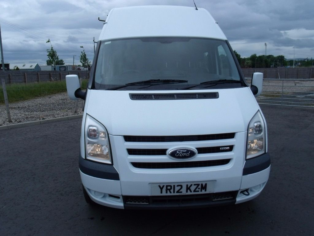 "FORD TRANSIT T350 100PSi LWB HI ROOF MESS UNIT 2012 ""12"" REG"