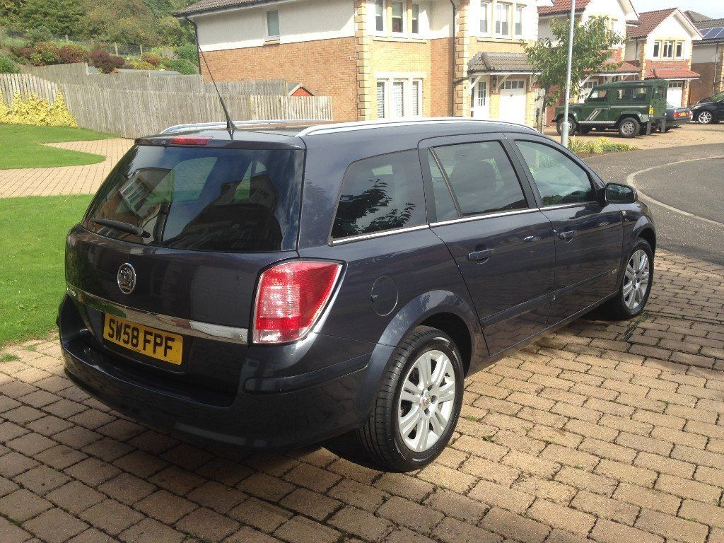 2009 VAUXHALL ASTRA 1.8i VVT DESIGN ESTATE AUTOMATIC AIR CONDITION