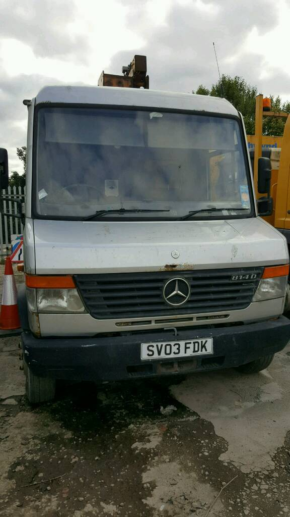 Vehicle now sold. Thanks for your interest.Cherry Picker Merc Sprinter 313