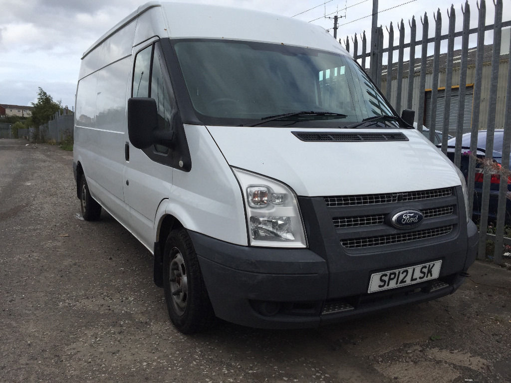 2012 FORD TRANSIT VAN LONG MOT AND SERVICE HISTORY ONE OWNER FROM NEW VERY CLEAN AND TIDY