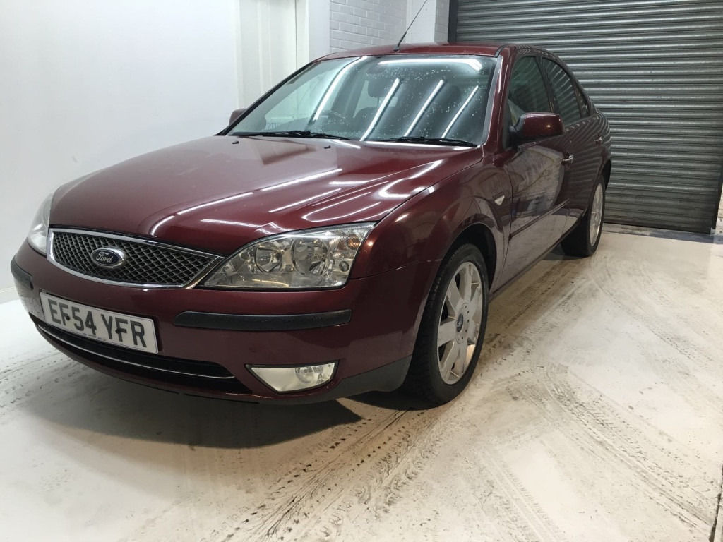 2004 Ford Mondeo 2.0 TDCi TURBO DIESEL FULL LEATHER 1 YEAR MOT FULL LOADED LEATHER AUTO SEATS