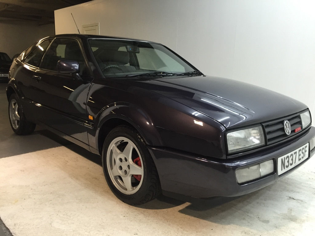 1996 VW VOLKSWAGEN CORRADO VR6 FULL SERVICE HISTORY FULL YEAR MOT JUST DONE 3 KEYS RUST FREE