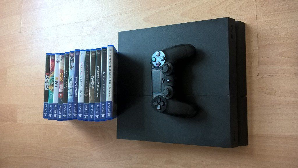 Playstation 4 and Games for sale