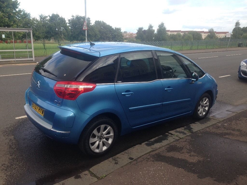 *Citroen c4 Picasso 5 excl hdi egs 2007