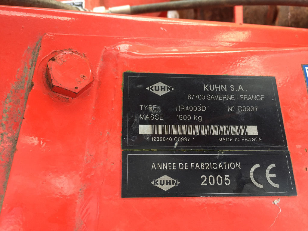 Kuhn HR 4003 4m Power Harrow