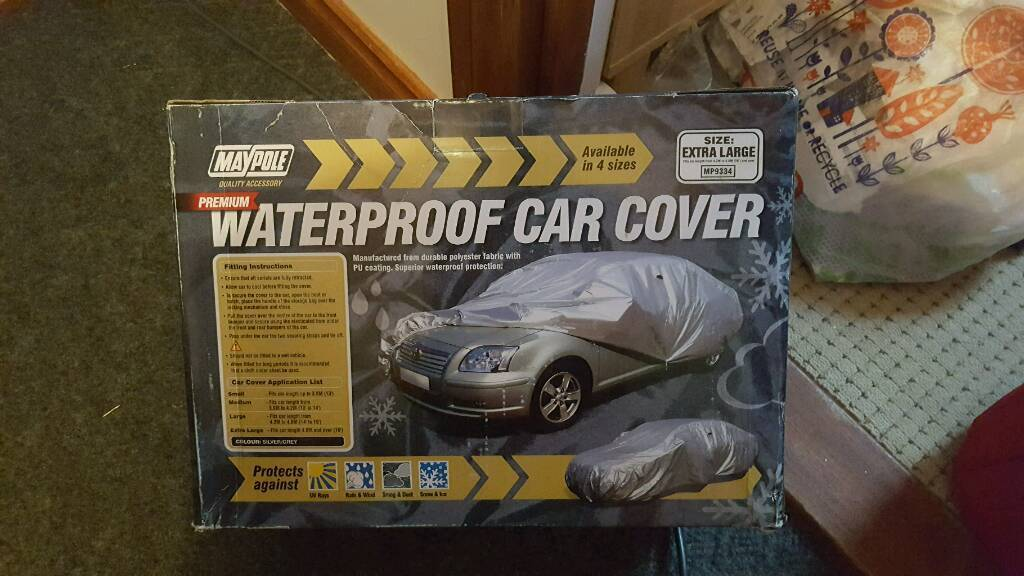 XL car cover