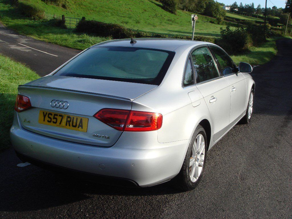 08 Audi A4 2.0TDI new shape MINT full mot