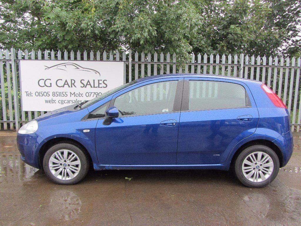 2007 Fiat Grande Punto Eleganza 1.4 5dr. One Owner From New. Full Service History. New MOT