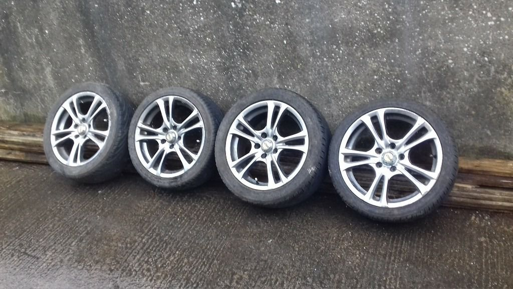"17"" 5x114.3 alloys mr2 accord lexus transit connect"