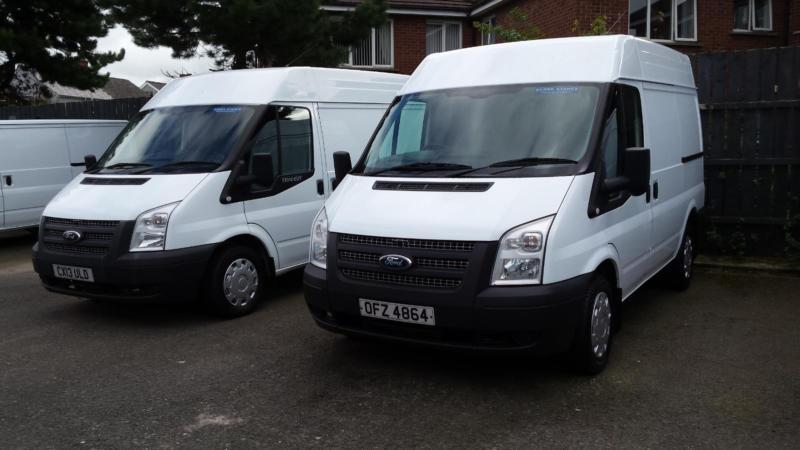 Choice Of Four 2013 Ford Transit 2.2TDCi ( 100PS ) ( EU5 ) 260S Med Roof Van SWB