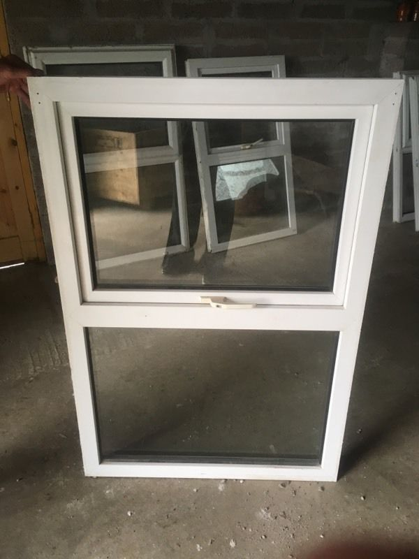 Second hand double glazed window