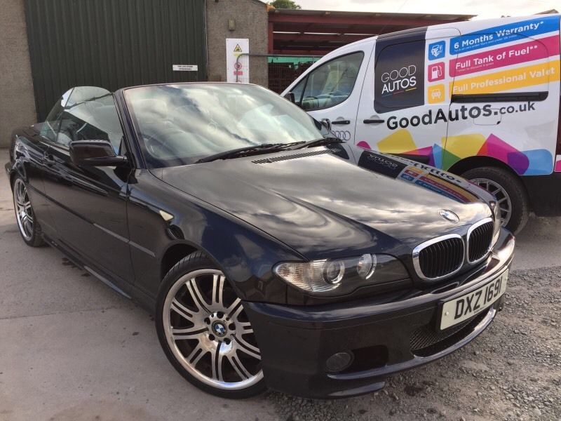 BMW 320d CONVERTIBLE GOOD CONDITION INSIDE, GOOD DRIVER