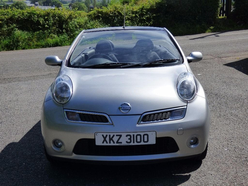 Mint wee 2009 Nissan Micra C+C 1.6 16v Acenta convertible, trade in considered,credit cards accepted