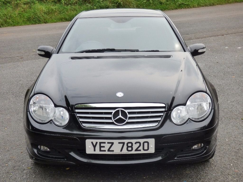 Mint October 2007 Mercedes C 180 Kompressor SE Coupe Auto,trade in considered, credit cards accepted