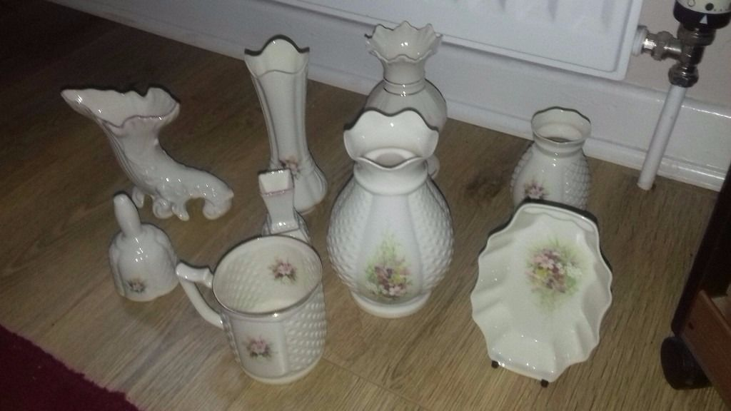 Selection of Donegal & Belleek China