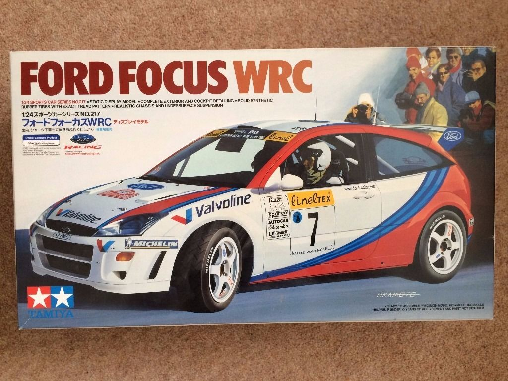 Model Car Kit FORD FOCUS WRC