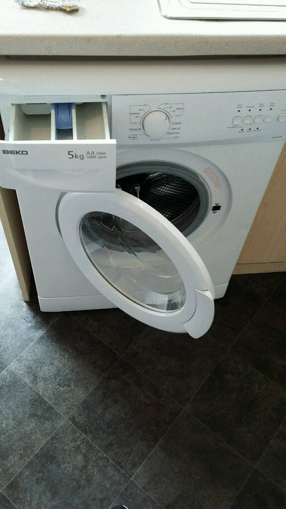 Beco washing machine in great condition only year old