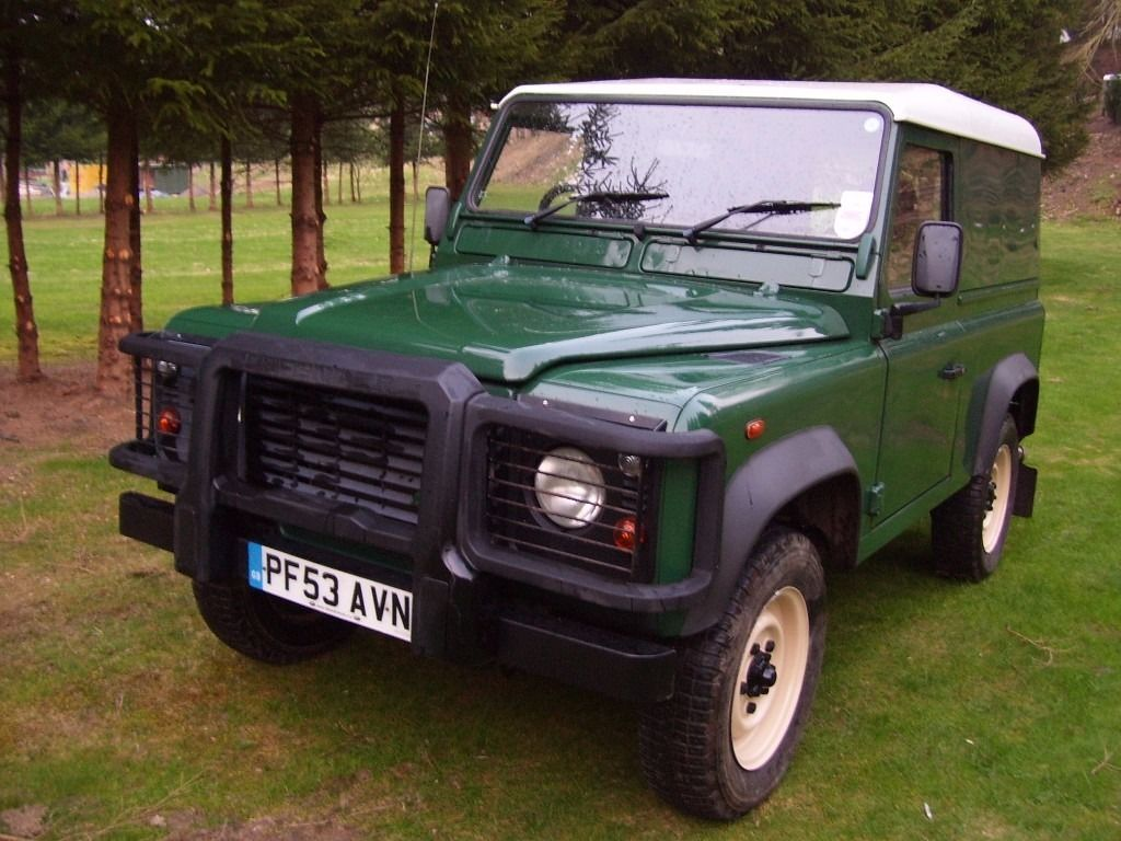 Land Rover Defender wanted diesel 4x4