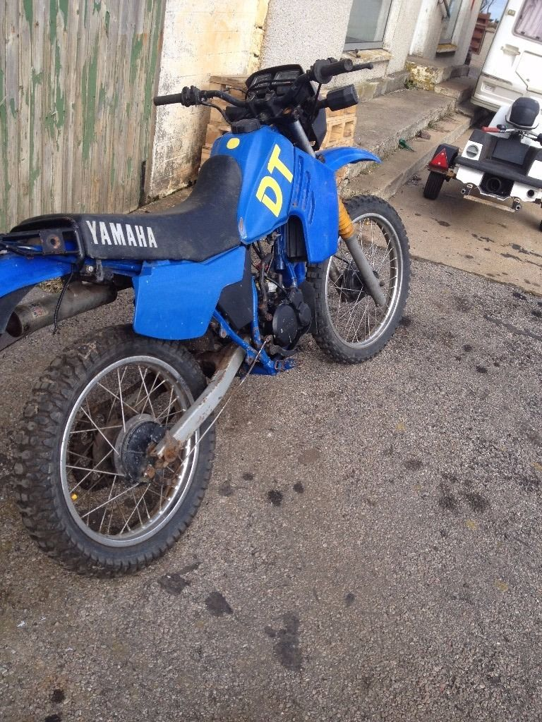 CLASSIC YAMAHA DT125LC LEARNER LEGAL ROAD TRAIL BIKE ON/OFF ROAD