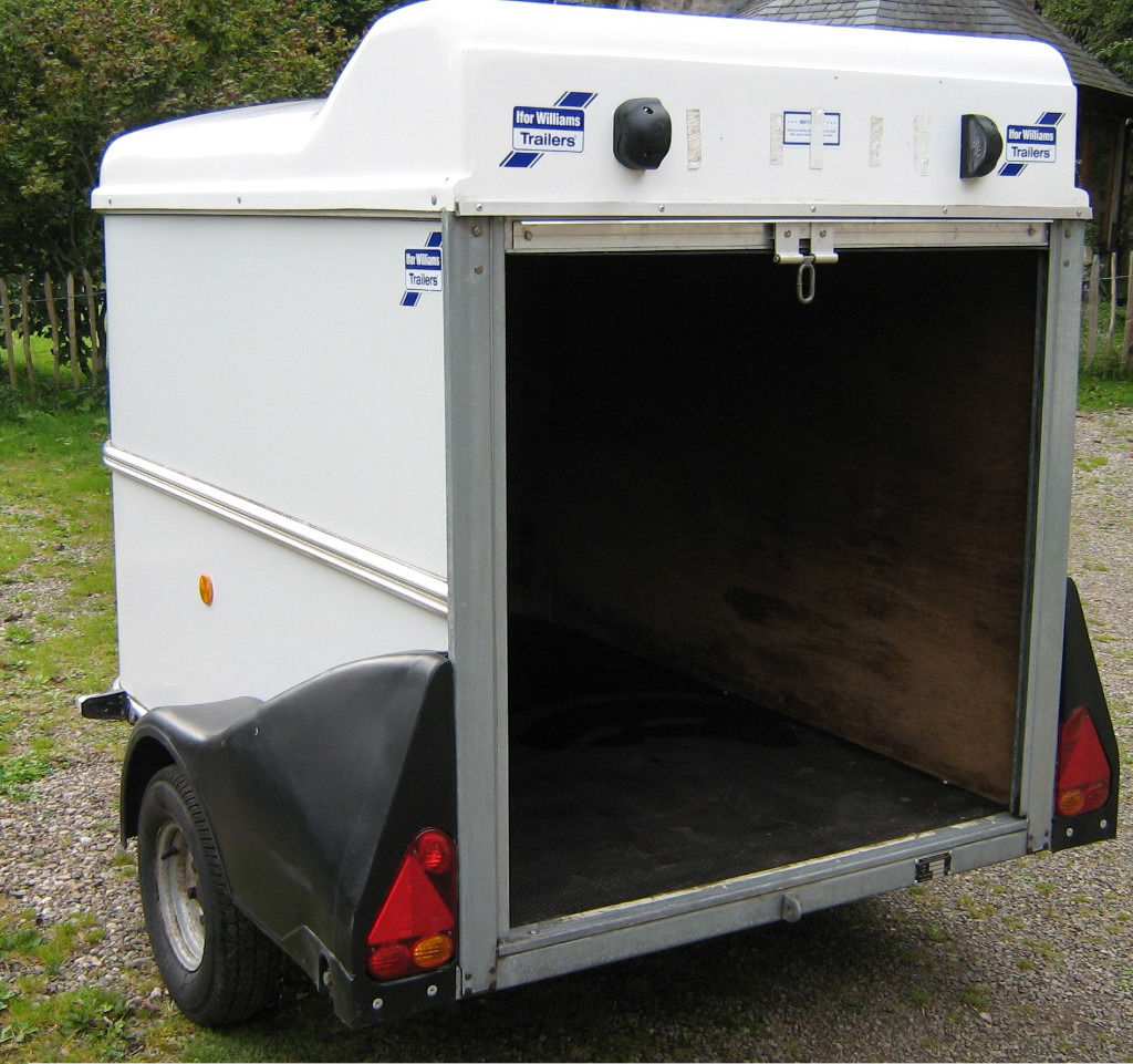 Ifor Williams BV64E box van trailer