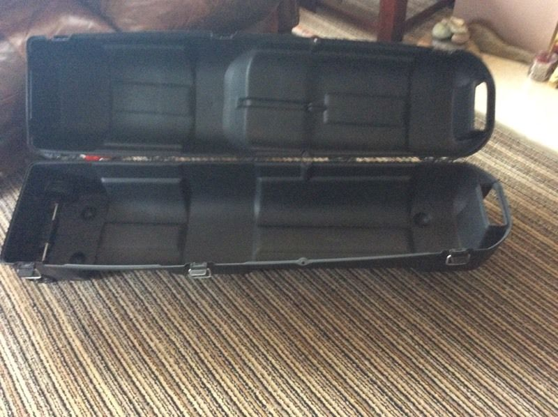 Hard Plastic Travel Case